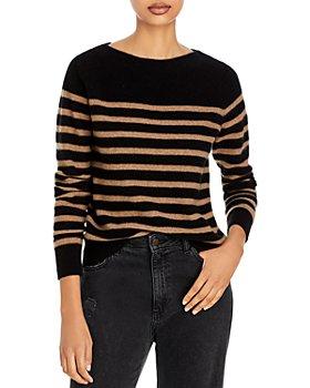 Vince - Breton Striped Cashmere Sweater
