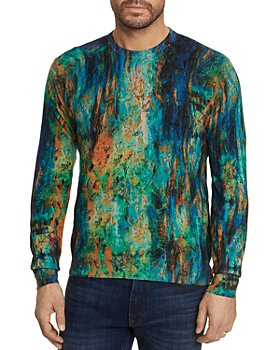 Robert Graham - Art Amour Abstract Painted Classic Fit Sweater