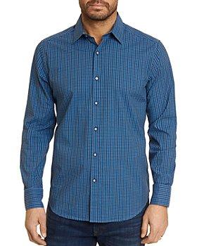 Robert Graham - Dominico Cotton Stretch Mini Check Classic Fit Button Up Shirt