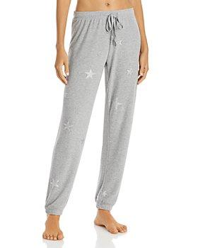 PJ Salvage - Metallic Star Print Pajama Pants - 100% Exclusive