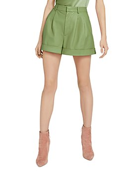 Alice and Olivia - Conry Leather Shorts