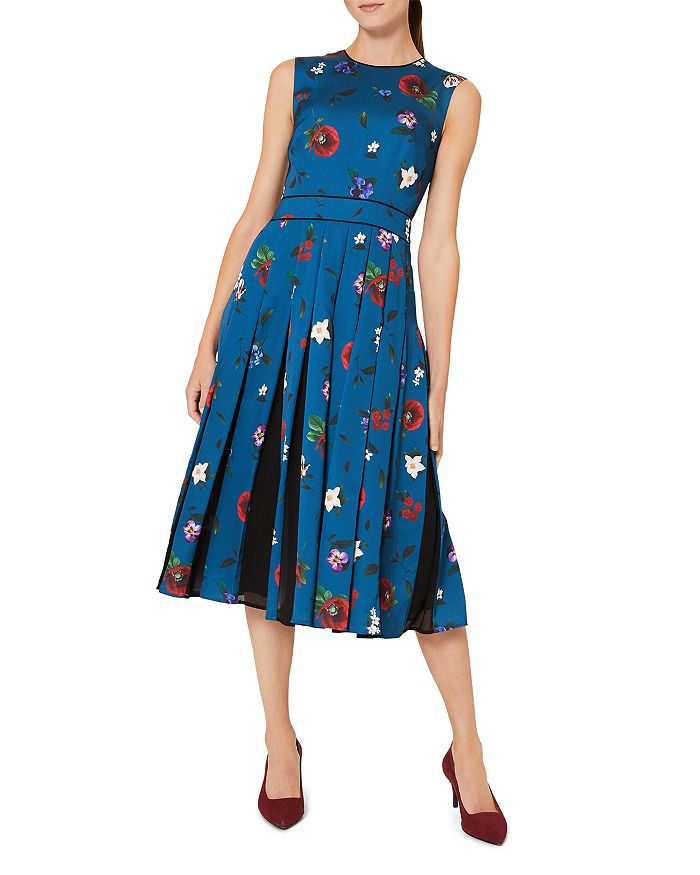 HOBBS LONDON - Beatrix Floral Print Dress