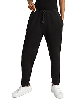 REISS - Angelina Zippered Hem Tech Jogger Pants