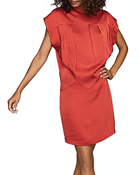 REISS - Tara Crossover Back Dress