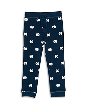 Stella McCartney - Boys' Cartoon Eyes Jogger Pants - Little Kid