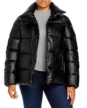 Unreal Fur Plus - Plus Size Major Tom Puffer Jacket