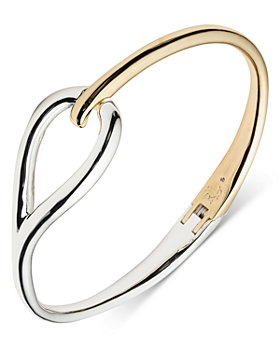 Ralph Lauren - Two-Tone Loop Bangle Bracelet