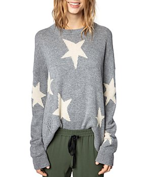 Zadig & Voltaire - Markus Cashmere Star Print Sweater