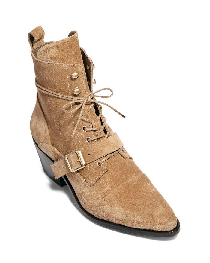 ALLSAINTS Women's Katy Croc-Embossed Boots  | Bloomingdale's