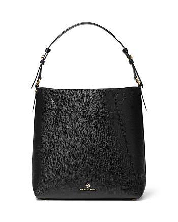 MICHAEL Michael Kors - Lucy Large Leather Hobo Shoulder Bag