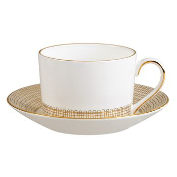 "Wedgwood - ""Gilded Weave"" Tea Cup"