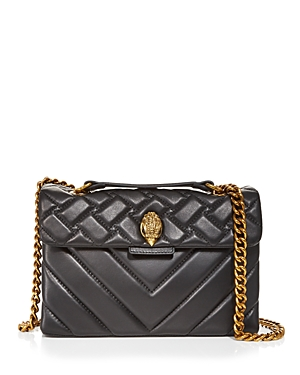 Kurt Geiger London Kensington Leather Shoulder Bag-Handbags