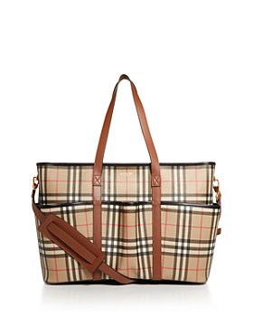 Burberry - Parker Vintage Check Diaper Bag