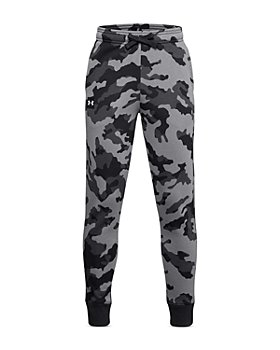Under Armour - Boys' Rival Fleece Camo Print Pants - Big Kid