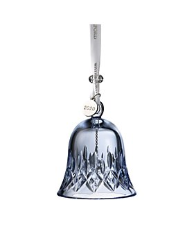 Waterford - Topaz Ice Crystal Lismore Bell Ornament