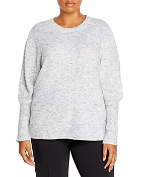 AQUA Curve - Plus Size Balloon Sleeve Sweater - 100% Exclusive