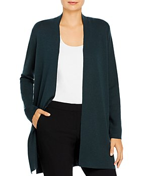 Eileen Fisher Petites - Wool Long Cardigan
