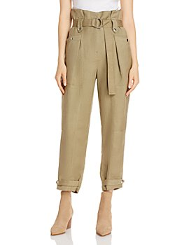 IRO - Mohon Paper Bag Cropped Pants
