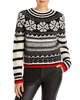 See by Chloé - Lucky Clover Jacquard Sweater