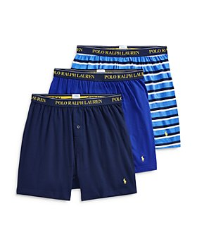 Polo Ralph Lauren - Cotton Knit Classic Fit Boxers - Pack of 3
