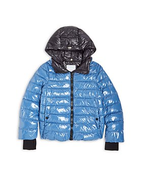 Herno - Girls' Glossy Quilted Down Bomber Jacket - Big Kid