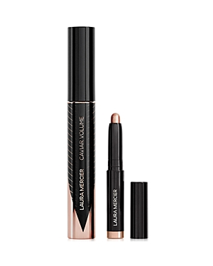 What It Is: Artistry in two acts. A limited-edition set of full size Caviar Panoramic Volume Mascara and Caviar Stick Eye Color that lends a romantic sweep of shimmering taupe to eyes and a lush, full lash look. Set Includes: - Caviar Volume Panoramic Mascara 0.4 oz. - Caviar Stick Eye Colour in Metallic Taupe 0.03 oz. What It\\\'S For: All skin types What It Does: The extremely versatile cream eyeshadow stick delivers effortless application, intense, buildable color and up to 12-hour wear. Complet