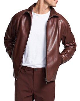 Theory - Landan Polished Leather Jacket