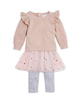 Miniclasix - Girls' Ruffled Sweater & Tutu Leggings Set - Baby