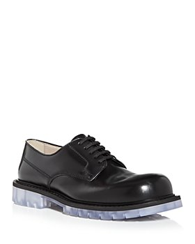 Bottega Veneta - Men's Plain Toe Oxfords