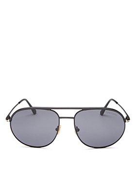 Tom Ford - Men's Gio Brow Bar Aviator Sunglasses, 59mm