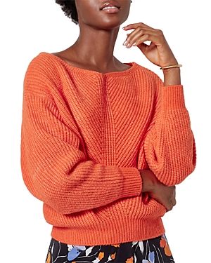 Joie Kristine Boat Neck Ribbed Sweater