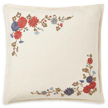 Ralph Lauren - Macall Embroidered Throw Pillow