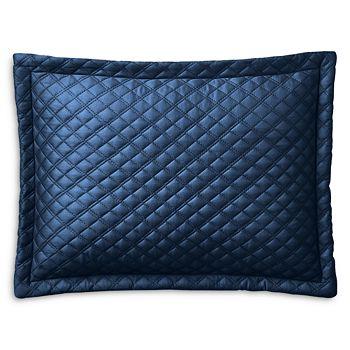 """Ralph Lauren - RL Quilted Sateen Argyle Decorative Pillow, 12"""" x 16"""""""