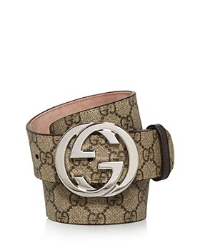 Gucci - Men's Double G Buckle Supreme Canvas Belt