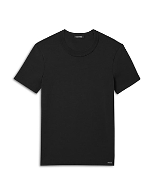 TOM FORD COTTON BLEND CREWNECK TEE