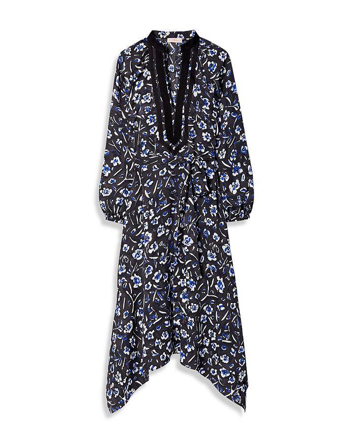 Tory Burch Dresses PUFFED SLEEVE PRINTED TUNIC DRESS
