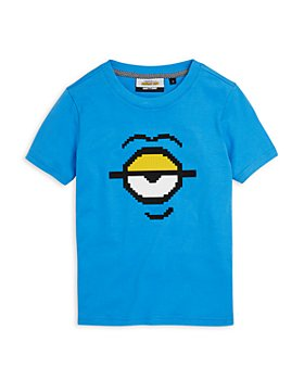 8-Bit by Mostly Heard Rarely Seen - Boys' Minion Tee - Little Kid, Big Kid