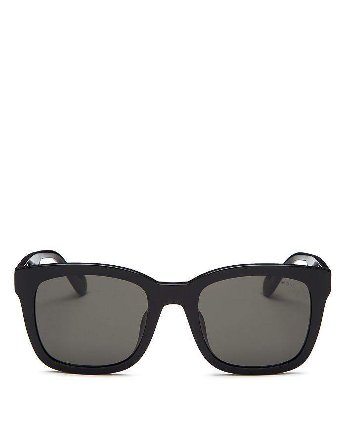 Moncler Men's Square Sunglasses, 55mm