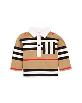 Burberry - Boys' Cuthbert Icon Stripe Rugby Shirt - Baby