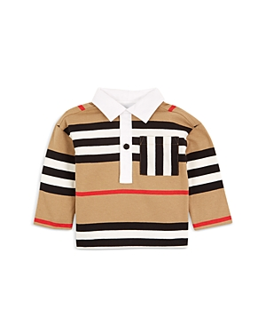 Burberry Boys\\\' Cuthbert Icon Stripe Rugby Shirt - Baby