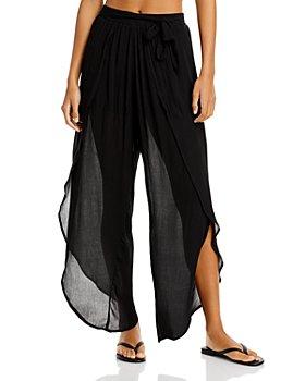 AQUA - Petal Beach Swim Cover-Up Pants - 100% Exclusive