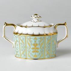 """Royal Crown Derby - """"Darley Abbey"""" Covered Sugar Bowl"""