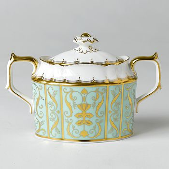 "Royal Crown Derby - ""Darley Abbey"" Covered Sugar Bowl"
