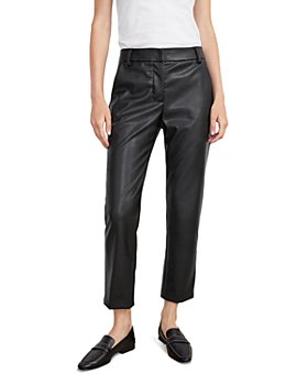 Velvet by Graham & Spencer - Hydie Faux-Leather Cropped Pants
