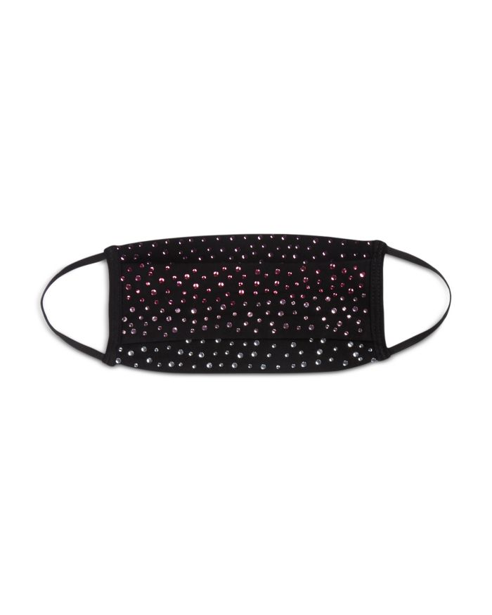Carolyn Rowan Accessories Cotton & Crystal Face Mask  | Bloomingdale's