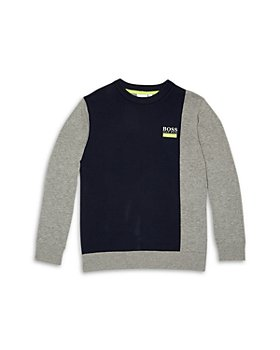 BOSS Hugo Boss - Boys' Color Block Sweater - Big Kid