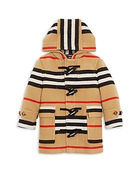 Burberry - Boys' Alistar Icon Stripe Wool Duffel Coat - Little Kid, Big Kid