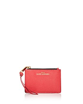 MARC JACOBS - Top Zip Leather Card Case
