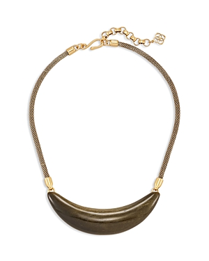 Kendra Scott Kaia Obsidian Collar Necklace, 16-18-Jewelry & Accessories