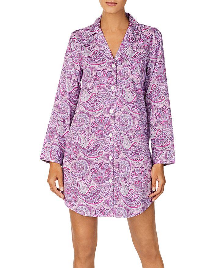 Ralph Lauren - Long Sleeve Printed Sleepshirt